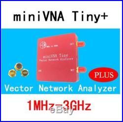 1M-3GHz Vector Antenna Network Analyzer Mini VNA Tiny+ VHF/UHF/NFC/RFID RF SWR