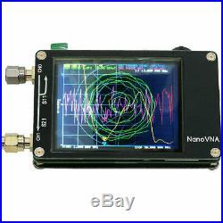 50KHz-900MHz NanoVNA HF VHF UV Vector Network Antenna Analyzer +LCD +Battery US