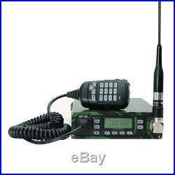 ABBREE 25W Backpack Packable VHF/UHF ham Car Mobile Radio Transceivers 12000mAh