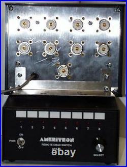 AMERITRON RCS-10 Remote coax switch, 8 position