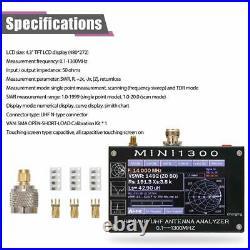 Antenna Analyzer Meter Tester MINI1300 4.3 Inch Digital Display Touching Screen