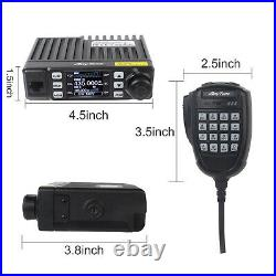 AnyTone Mini Size Dual Band Transceiver Mobile Radio VHF/UHF GMRS Radio AT-779UV
