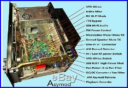 Asymod Ranger RCI-2995 DXCF ADR (Front Panel Asymod Demod Recorder) Hi-Fi TX RX