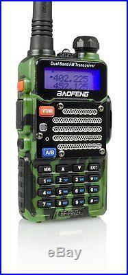 Baofeng Green BF-F9 V2+ TRI-POWER (8 Watts) Two Way HAM Radio UHF/VHF FM