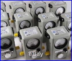 Bird 4410a Thruline RF Wattmeter Multi-Range Broadband Power Meter + Suitcase 43