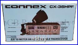 Connex CX36HPF Amateur, 10 Meter Radio CX-36HPF NEW