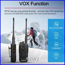 DMR Ham Radio Retevis RT3S Walkie Talkie Dual Band Digital 3000CH TDMA VOX Alarm