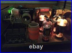 Dentron GLA 1000 HF Linear Amplifier HAM Radio Transceiver Transmitter Manual