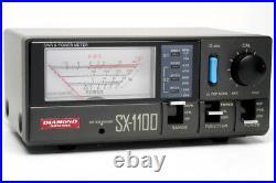 Diamond SX1100 Quad-Band SWR Power Meter 1.8-160,430-450,800-930,1240-1300 MHz