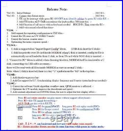 Digital PSK MODEM Encode Decode BPSK31/63, RTTY QPSK For