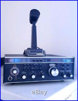 Drake TR7A TR7 Ham Radio Transceiver with PS7 Power Supply & Mic + MANUALS
