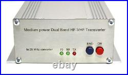 Dual Band 50 + 70 to 28 MHz 10Watts ASSEMBLED TRANSVERTER VHF UHF 28mhz