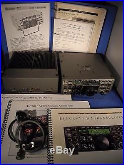Elecraft K2/100 Twins Ham Radio Transceiver QRP & 100W | Ham