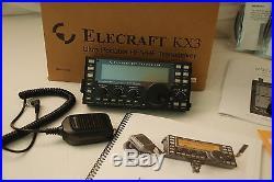 Elecraft KX3 Ultra-Portable 160-6 Meter, All-Mode Transceiver