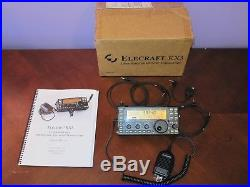 Electraft KX3 with Tuner Microphone Factory Assembled Factory Box + Cables