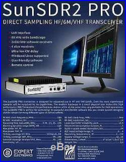 Expert Electronics SunSDR2-Pro HF and VHF (6 /2M) SDR transceiver