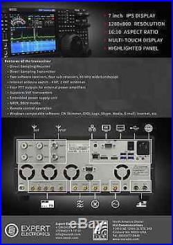 Expert Electronics SunSDR MB1 HF and VHF transceiver (SDR and PC in