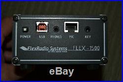 Flex Radio 1500 SDR 5 Watt QRP Ham Radio Excellent Condition