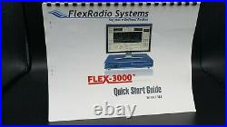 Flexradio Flex-3000 100W HF Software Defined Transceiver with Firewire card Used
