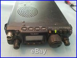 Ft-817 Yaesu Portable Amateur Radio HF/VHF/UHF All Mode transceiver