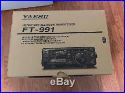 Ft-991 All-band, Hf/vhf/uhf Multimode Portable Transciever