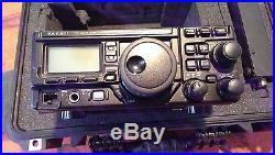 Fully loaded Yaesu FT 897D Radio Transceiver in Pelican Case
