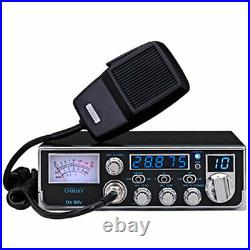 GALAXY DX86V COMPACT 10 METER AMATUER MOBILE RADIO SWR METER With SSB & MICROPHONE