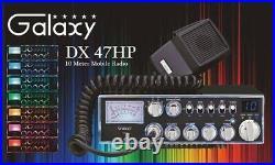 Galaxy DX47HP 100 Watt 10 Meter Amateur Ham Mobile Radio Brand New