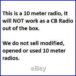 Galaxy DX-94HP 10 Meter Amateur Ham Mobile Radio AM SSB Mosfet Finals 100W NEW