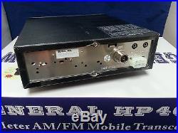 General HP40W 10 Meter Amateur Ham Mobile Radio AM FM Blue LED 100W Transceiver