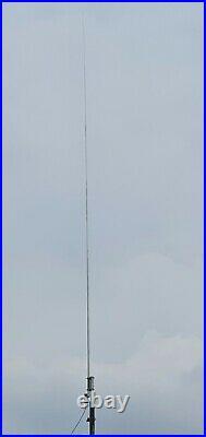 HF VERTICAL ANTENNA 160-6m BROADBAND 2-54Mhz 400W SSB MultiBand MultiMode HAM
