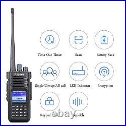 Ham RadioTransceivers Ailunce HD1 GPS VHF UHF Walkie Talkie VOX IP67 3200mAh