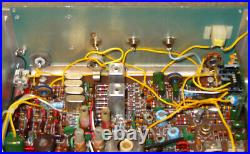 Heathkit HW-8 CW QRP Transceiver and homebrew power supply, working