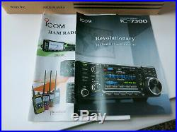 ICOM 7300 IC-7300 HF/50Mhz Transceiver NIB