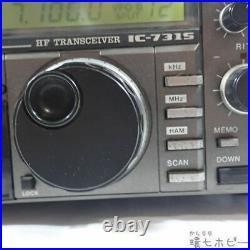 ICOM HF all mode Amature Ham Radio transceiver IC-731S 10W Black Japan junk