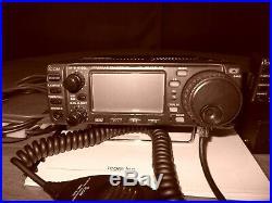 ICOM IC706 MKIIG HF + 6M/2m/440 Mobile Transciever HF UHF VHF