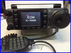 ICOM IC-7000 HF/VHF/UHF Transceiver Excellent Condition