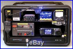 Icom Ic 7000 Radio Transceiver Loaded Gator Go Box Mars