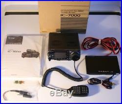 icom ic 7000 transceiver hf vhf uhf am ssb cw fm. Black Bedroom Furniture Sets. Home Design Ideas