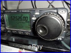 ICOM IC-706MKIIG HF, VHF, UHF Ham Amateur Radio All Band & All Mode Transceiver