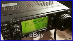 ICOM IC-706mk2 ALL MODE MOBILE HAM RADIO TRANSCEIVER HF/6M