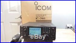 ICOM IC-746 HF 2 & 6 Meter Transceiver C MY OTHER HAM AMATEUR RADIO GEAR eBAY