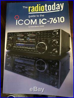 ICOM IC-7610! HF Transceiver! Works Great! Minty! Screen Replaced! BONUS