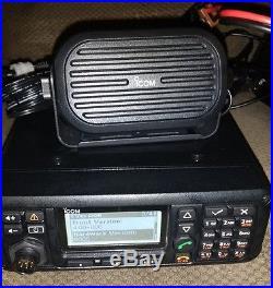 ICOM IC-F8101HF mobile 125 watts ALE SELCALL ham radio   Ham Radio