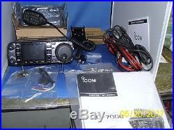 IC-7000 HF/VHF/UHF Transceiver in Real Nice Shape. A Shack in the box