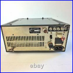 Icom IC-251 All Mode 144MHz Transceiver SSB Only Power On Japan Vintage Black
