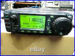Icom IC-706mkllg hf vhf uhf with mars mod