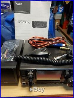 Icom IC-7300 100W Touchscreen HF/50MHz Transceiver. A+ condition, no box