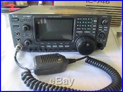 Icom IC 746 Radio Transceiver All Mode HF/VHF