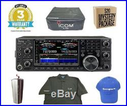 Icom IC-7610 HF/50MHz Base Transceiver with 3 Year Warranty and Icom Goodies